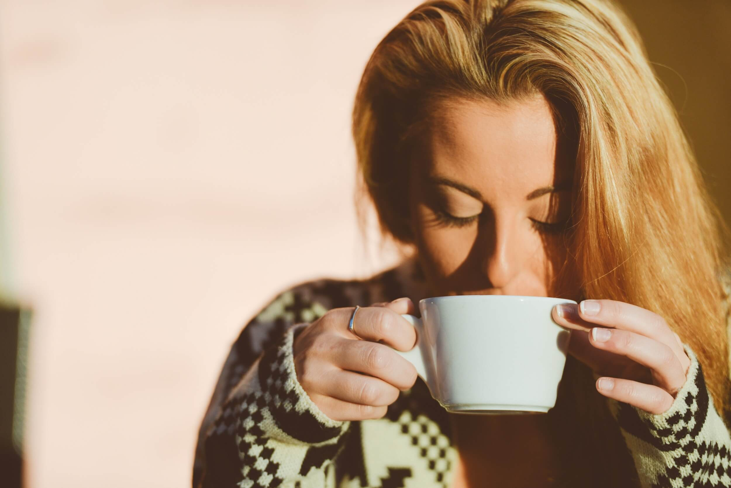 The Power of One cup Coffee